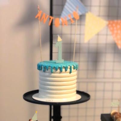 topo bolo personalizado com nome sem tema