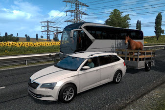 Animal trailer v1.0 ETS2 1.36