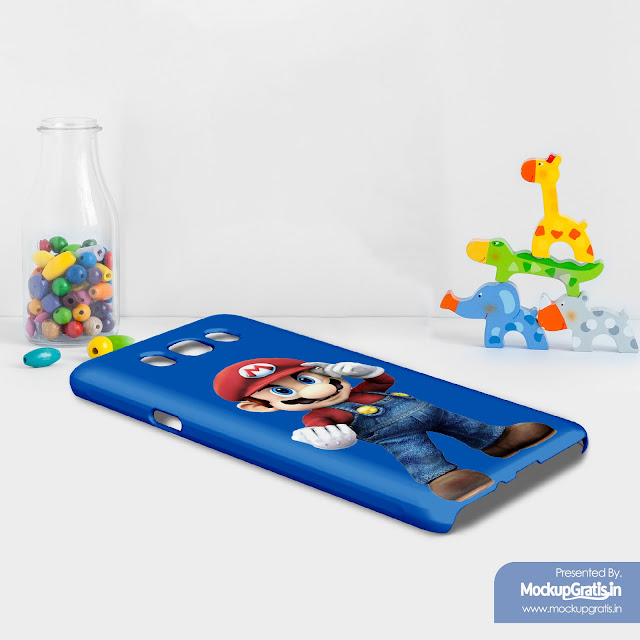 Mockup Custom Case 3D Samsung Galaxy J7 (2016)