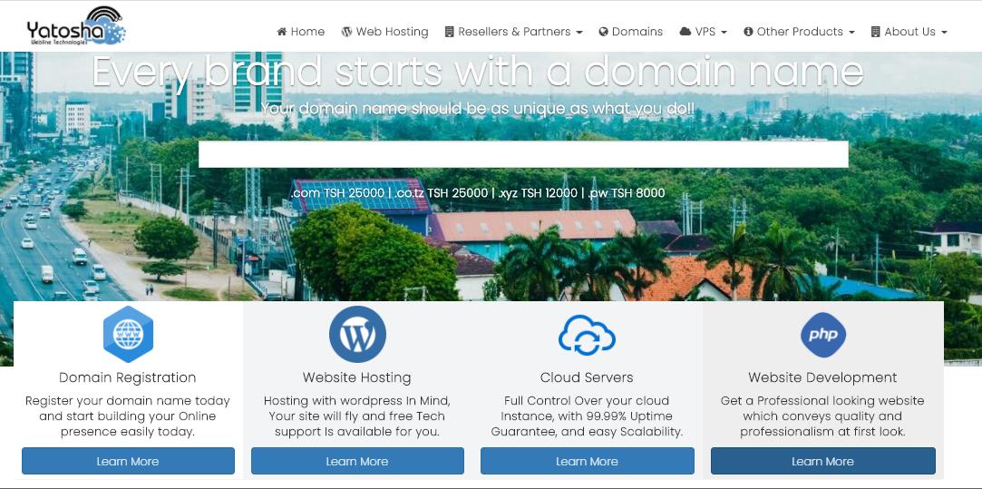 The Best Domain Registrar in Tanzania