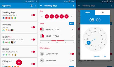 تطبيق AppBlock للأندرويد, تطبيق AppBlock مدفوع للأندرويد, تطبيق AppBlock مهكر للأندرويد