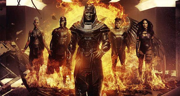 X-Men Apocalipsis cuatro jinetes
