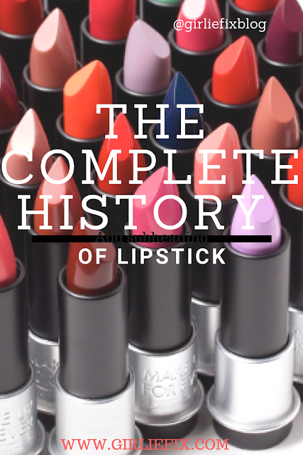 girliefix blog - the complete history of lipstick