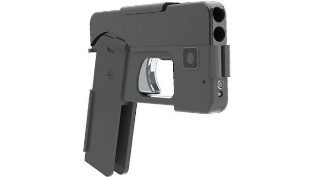 Ideal fordable gun