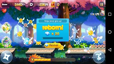 Download Sprint Ninja v1.0.2 Apk Screenshot 4