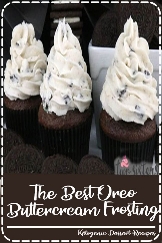 If you are looking for the perfect Cookies and Cream frosting The Best Oreo Buttercream Frosting
