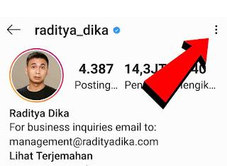 Cara melihat foto profil instagram teman 1