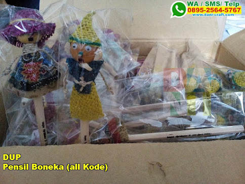 Pensil Boneka All Kode