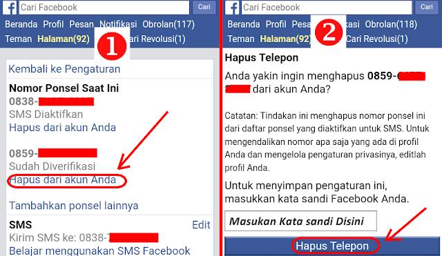 cara mengubah nomor hp di facebook, cara mengganti no hp di fb, cara ganti nomor hp, cara ganti no hp di fb