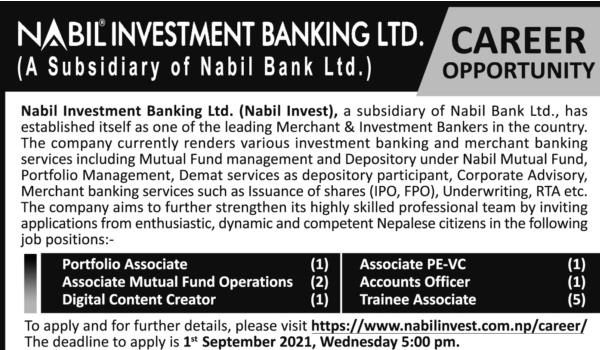 nabil investment banking