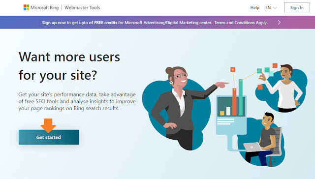 How To Connect Website To Bing Webmaster Tools | Bing Search Console 1