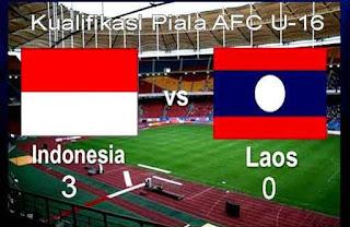 Indonesia Kalahkan Laos 3-0 Kualifikasi Piala Asia U-16
