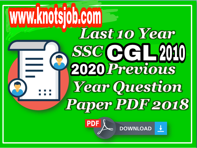 SSC CGL Previous Year Papers PDF Download | CGL Paper Solution