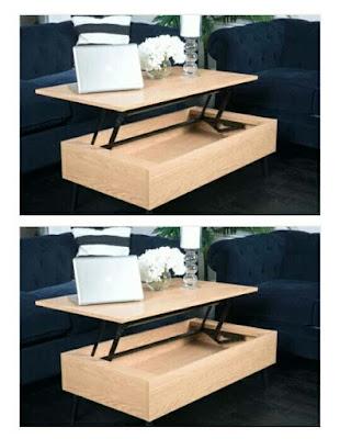 Meja Lipat Gaya Adjustable multiFungsi yang keren dan Gaya