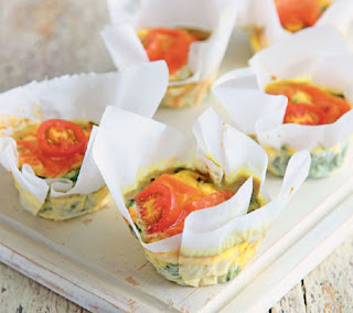 mini smoked trout quiches recipe