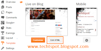 Disable Right Click On Images In Blogger Blog