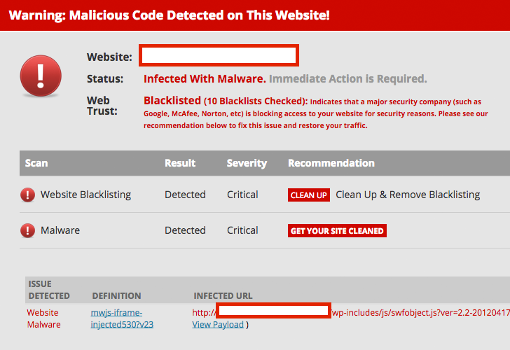 'SoakSoak' Malware Compromises 100,000 WordPress Websites