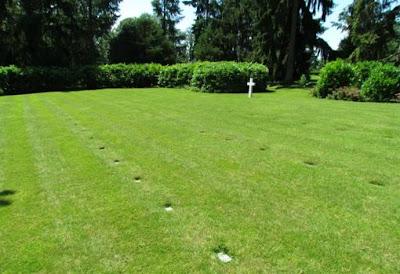 Parcela E del cementerio de Oise-Aisne