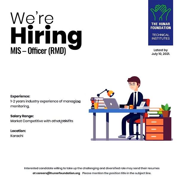 The Hunar Foundation Latest Jobs 2021