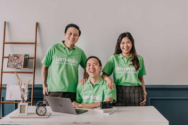 tiga orang co founders lemonilo