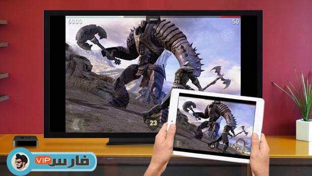 كيفية توصيل iPhone أو iPad بشاشة التلفزيون بسهولة