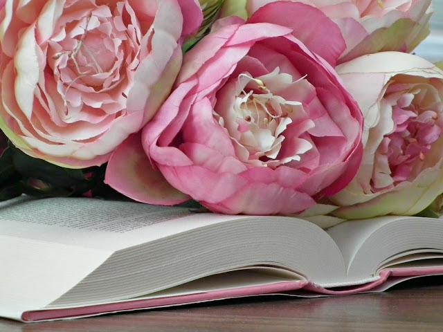 kniha kvety