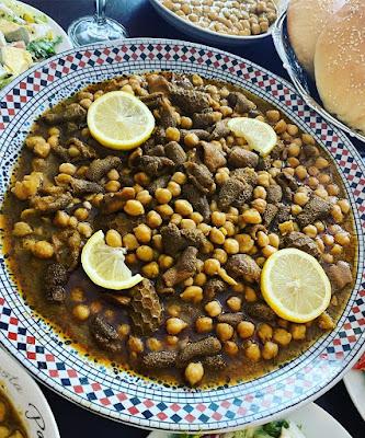 شهيوات عيد الاضحى : الكرشة بالحمص