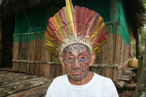 Pajé Tata - Líder Espiritual e Curador Yawanawá1