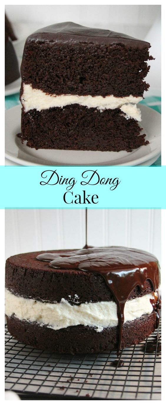 Easy Ding Dong Cake Recipe