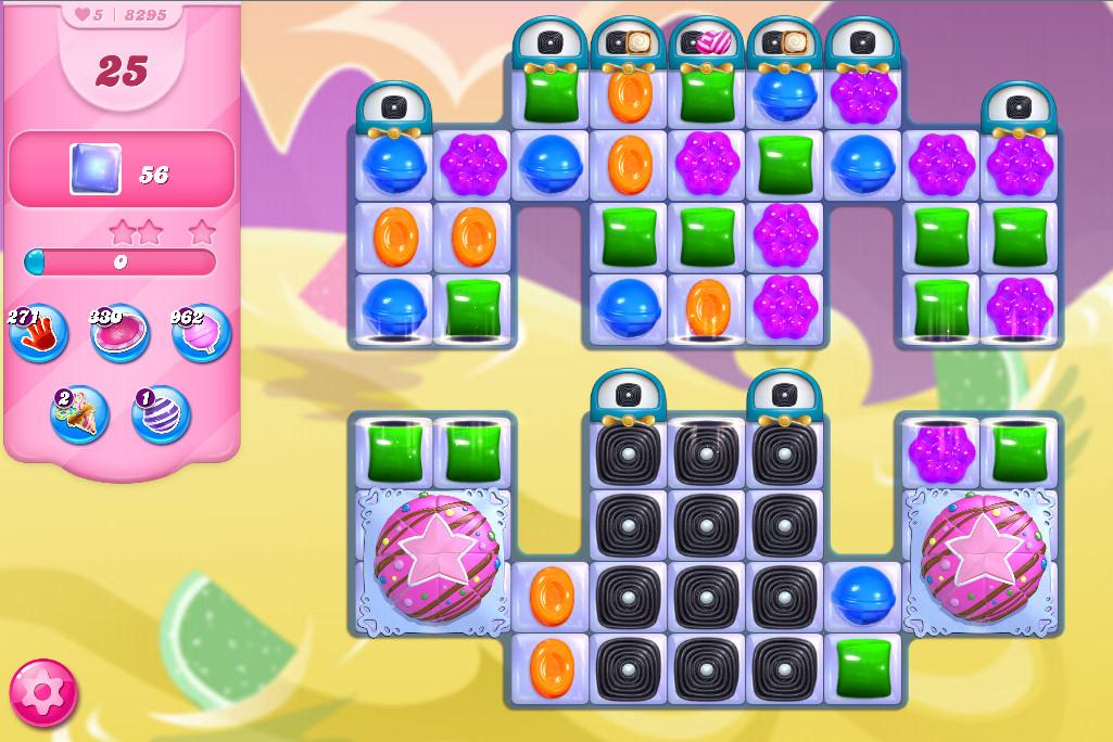 Candy Crush Saga level 8295