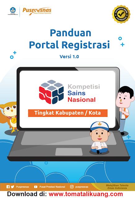 panduan registrasi pendaftaran peserta ksn-k sma ma tahun 2021 pdf kabupaten kota tomatalikuang.com