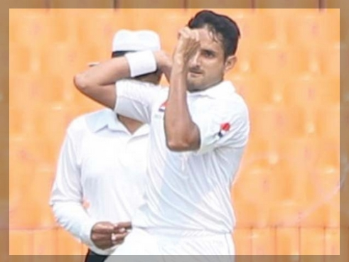 Abbas was bowling well in the Test