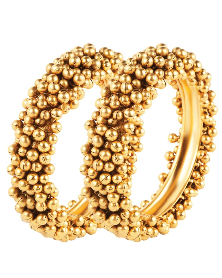 Indian Jewellery and Clothing: Designer gold bangles from ...