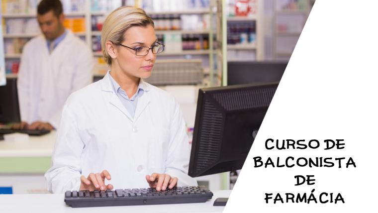 Curso de Balconista de Farmácia online e gratuito