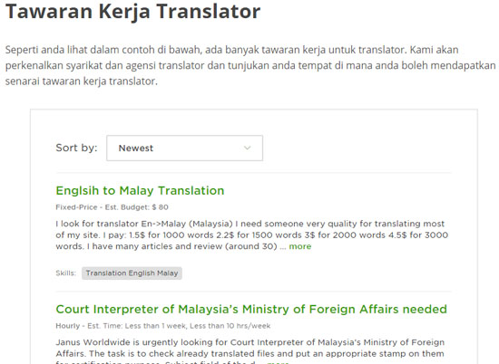 Jana Income Sampingan Sebagai Translator Online