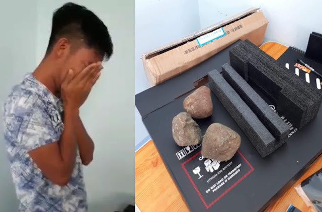 Filipino Student Gets Stones Instead of Laptop