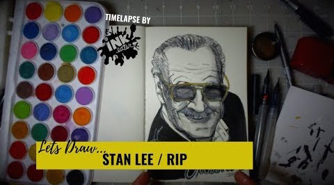 Lets Draw Stan Lee RIP - Whats your favorite Stan Lee Cameo/Memory?