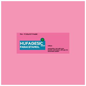 Hufagesic : Paracetamol (Analgetik - Antipiretik)