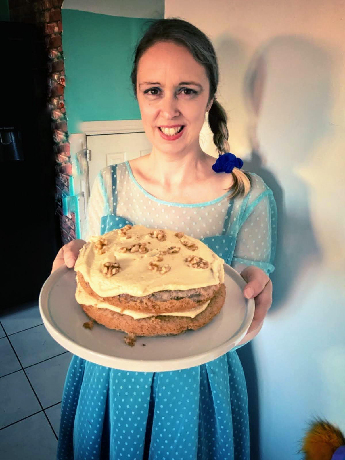 Birthday Fun And A Gluten And Dairy Free Coffee Cake