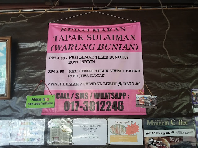 Warung Tapak Sulaiman/ Warung Bunian