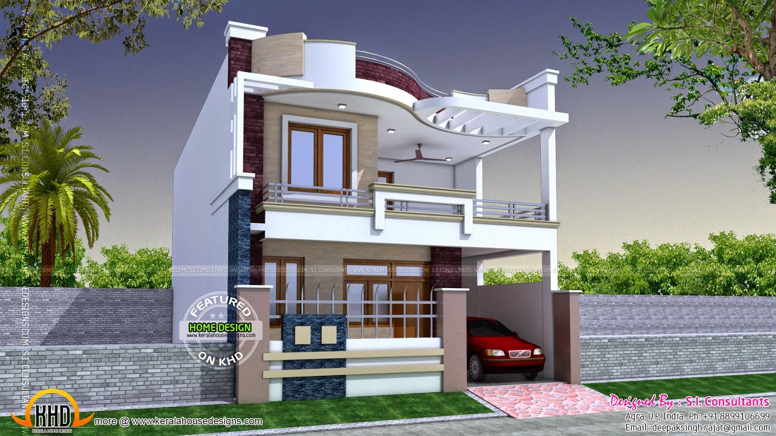 Modern Indian Home Design Kerala Home Design And Floor Plans