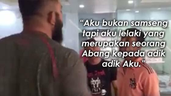 Kisah Sebenar Video Lelaki Melayu Tumbuk Terajang Warga Asing