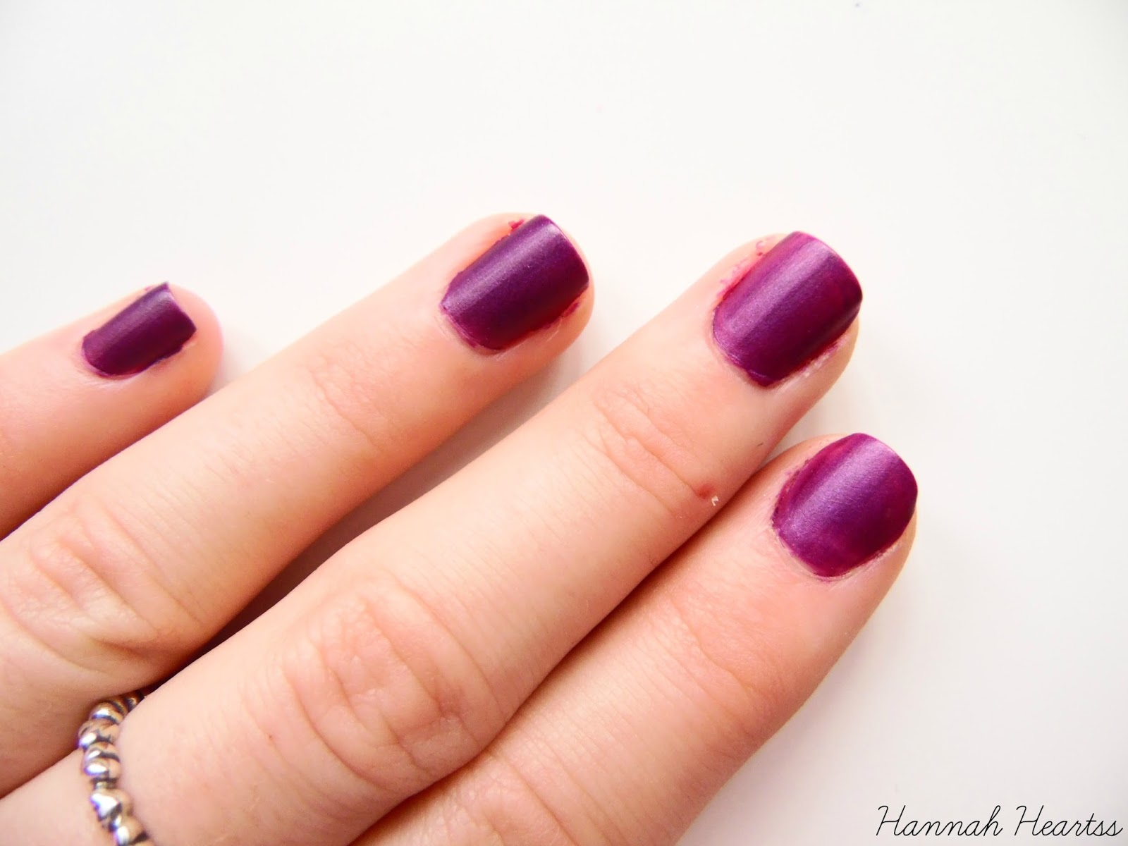 Barry M Silk Nail Polish in Orchid Swatch