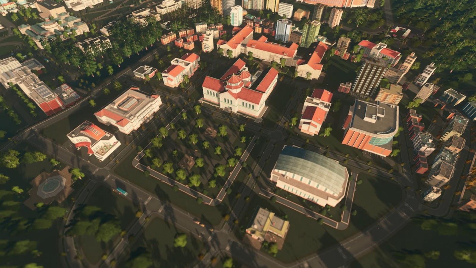Cities Skylines Campus PC ESPAÑOL (CODEX) 2