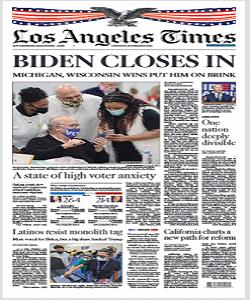 Los Angeles Times Magazine 5 November 2020 | Los Angeles News | Free PDF Download