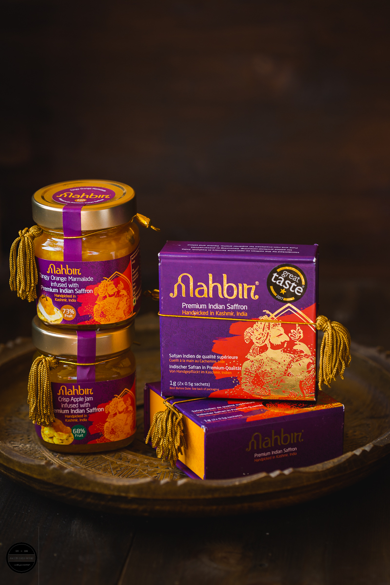 Mahbir saffron from Kashmir India.