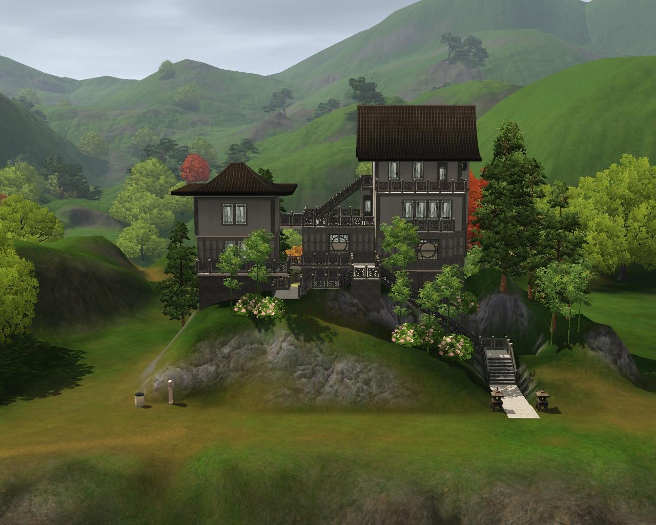 summer 39 s little sims 3 garden shang simla the sims 3 world adventures list of empty houses