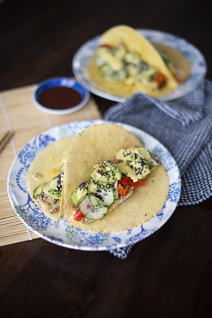 Tacos à la japonaise