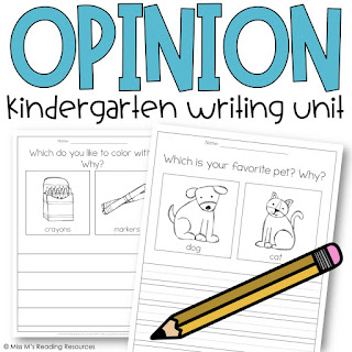 https://www.teacherspayteachers.com/Product/Kindergarten-Opinion-Writing-2441462