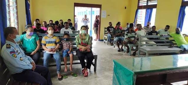 PW GKI Sardis Tanah Merah Kunjungan Kasih ke Lapas Kelas III Tanah Merah